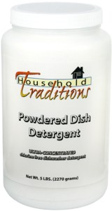 Tropical traditions dish detergent