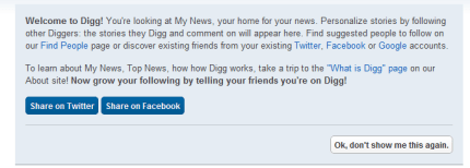 welcome to Digg