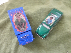 Hotwheels customized toy cars
