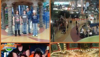 Nickelodeon Universe Collage 2