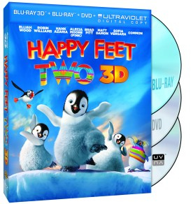 Happy Feet 2 DVD Combo