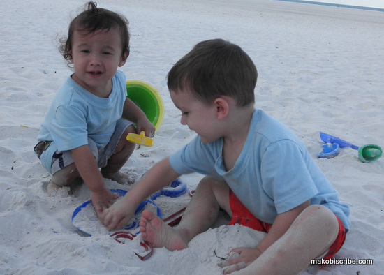 Toddler Beach Tips
