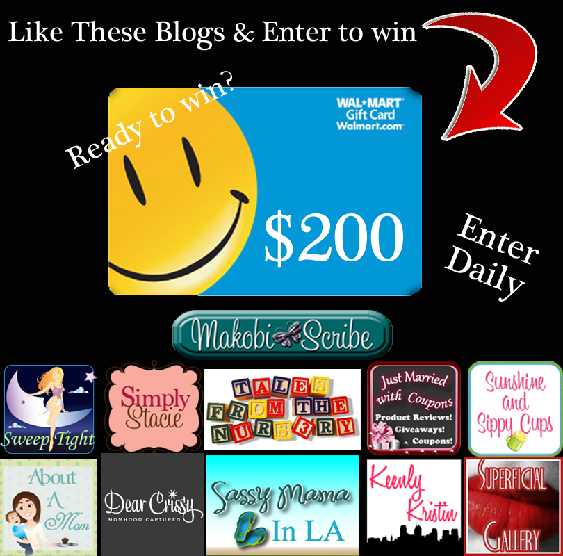 Two Hundred Dollar Walmart Gift Card Sweepstakes