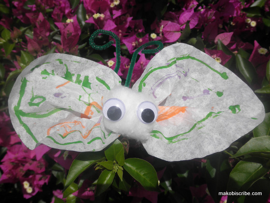 Coffee Filter Butterflies Are An Easy Spring Craft For Toddlers