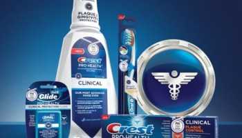 crest and oral b regimen