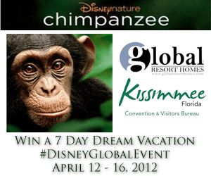 #DisneyGlobalGiveaway 7 Day Dream Vacation to Kissimmee Florida Sweepstakes