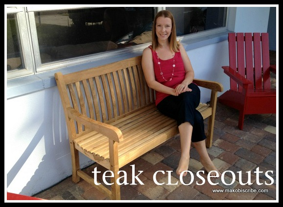 Patio Furniture from Teak Closeouts Sweepstakes