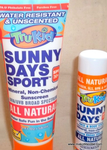 All Natural Sunscreen for kids