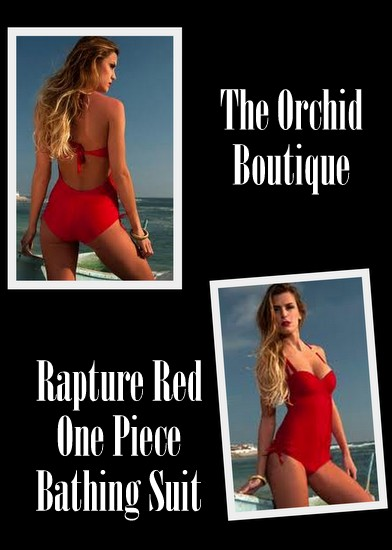 Underwire One Piece Swimsuits from The Orchid Boutique