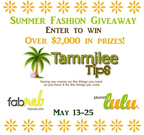 Summer Fashion Sweepstakes $2000 in Prizes