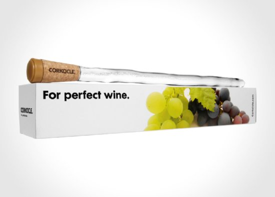 Keep Your Wine Chilled By Corkcicle