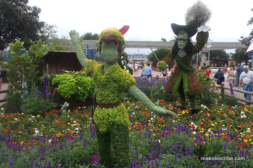 Pixie Hollow Garden Epcot