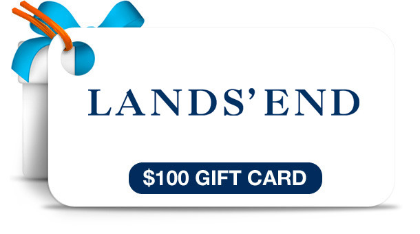 Win A LandsEnd $100 Gift Card Sweepstakes Ends 5/25 1 PM EST