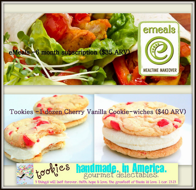 Savory Summer Tookies and eMeals Sweepstakes