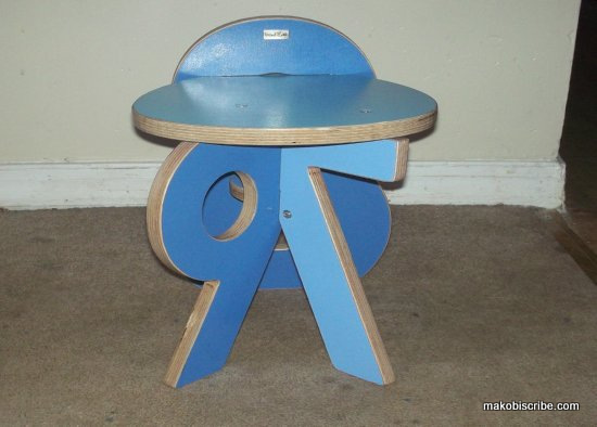 7-8-9 chair front view