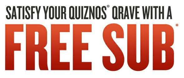 Free Fathers Day Coupons to Quiznos
