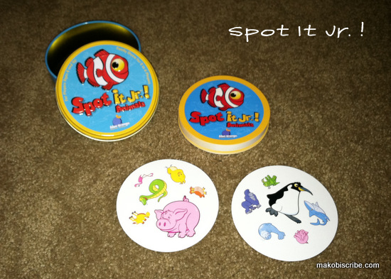 Games For The Family Spot It Jr Animals By Blue Orange Games Review
