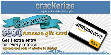 Amazon card from Crackerize