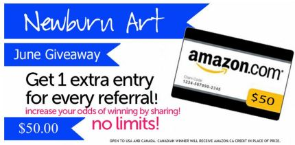 amazon card from newburn art