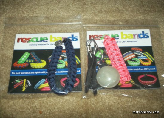 Paracord Rescue Bracelet From Rescue Bands Sweepstakes