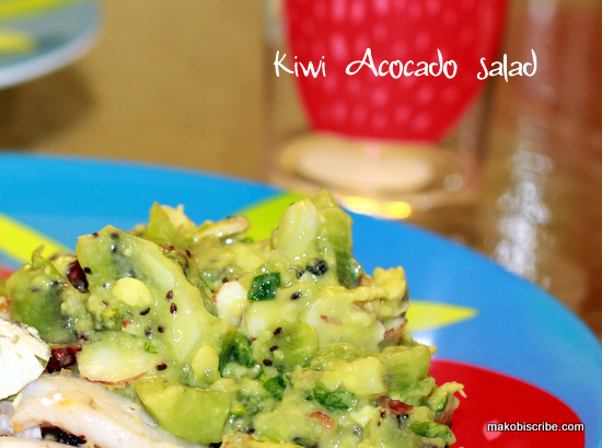 Kiwi Avocado Salad