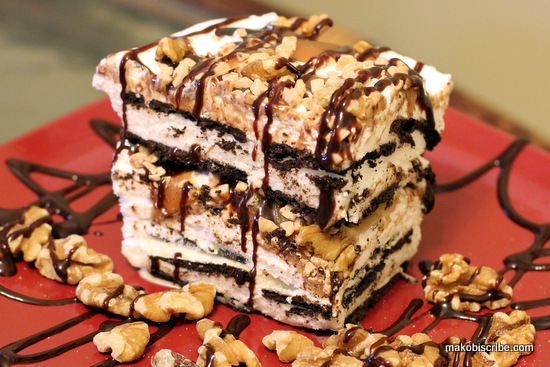 Yogurt Ice Cream Sandwich Cake Recipe