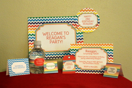 Summer Party Printables from Simone Made it Review