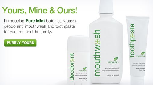 arbonne natural dental care