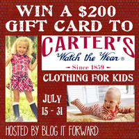 Carter's Watch the Wear Giveaway