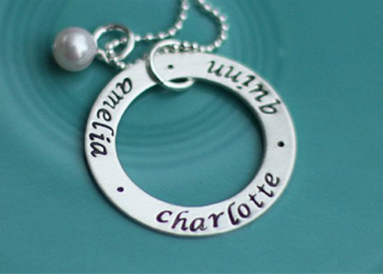 Personalized Necklaces For Women From The Vintage Pearl Sweepstakes