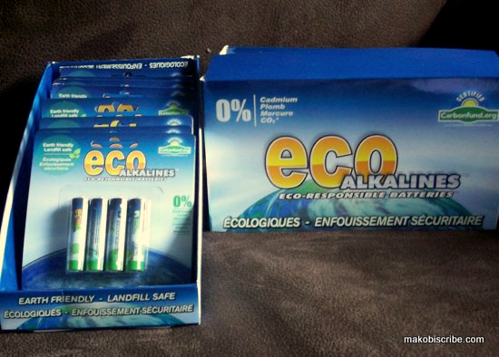 Eco Friendly Batteries