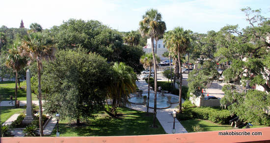 View From Casa Monica Hotel