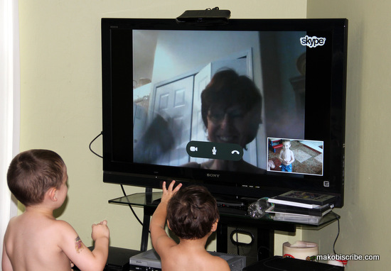 Staying in touch with family