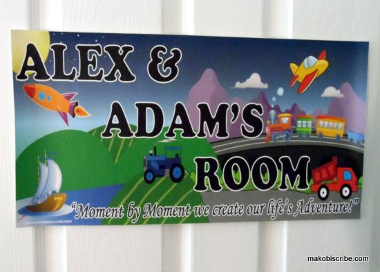 Personalized Name Signs For Kids
