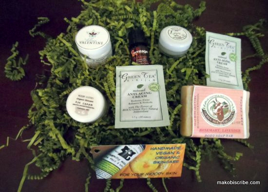 Monthly Organic Beauty Bag
