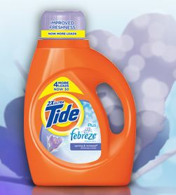 Free sample Of Tide Plus Febreze