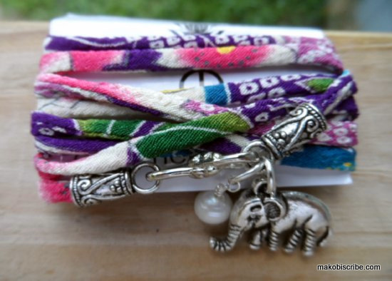 Cool Fabric Charm Beacelets