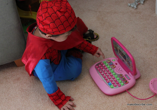 Spider-man blogger