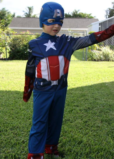 Captain America Costumes for Kids