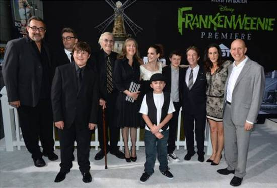 Frankenweenie World Premiere Cast