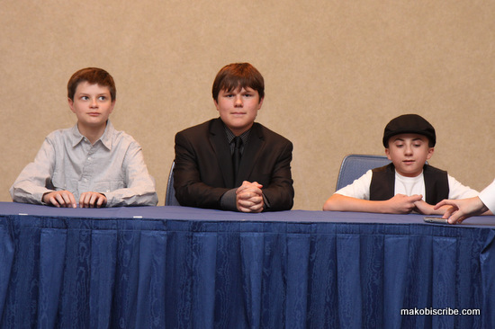 The Talented Voices Of Frankenweenie Atticus Shaffer, Charlie Tahan, Robert Capron #DisneyMoviesEvent