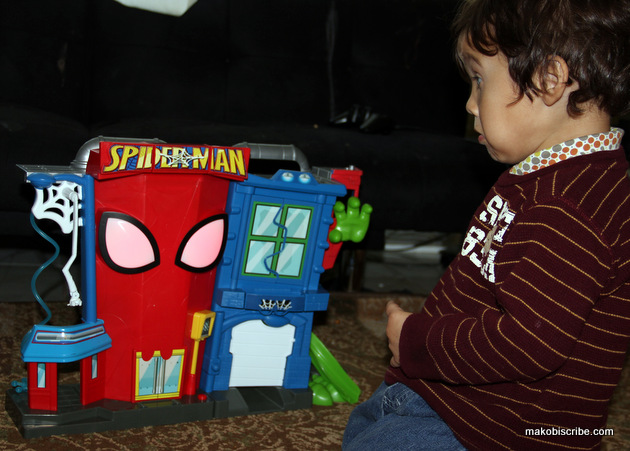Spider-Man Stunt City Is a Great Toddler Gift