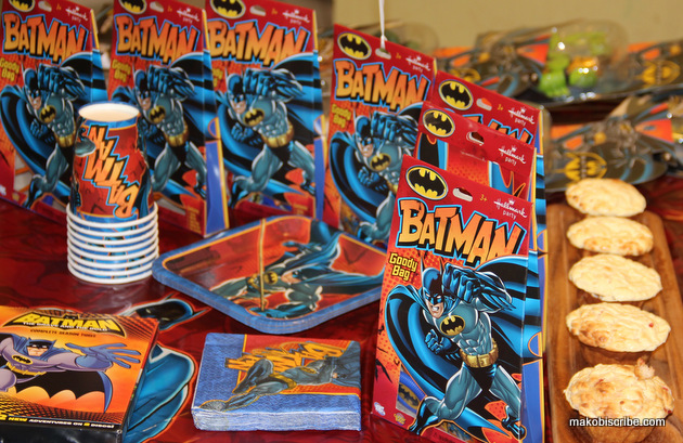 Batman Power Muffins