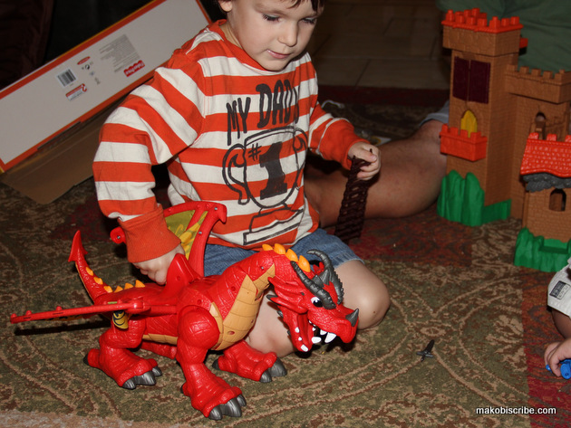 Imaginext dragon