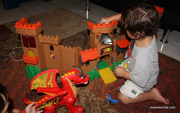 Encourage Creative Play With Imaginext Eagle Talon Castle and Dragon