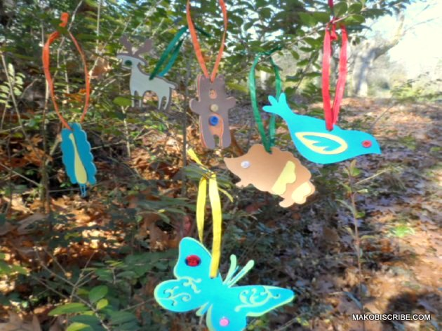 HandMade  Ornaments Christmas Craft For Preschool Kids