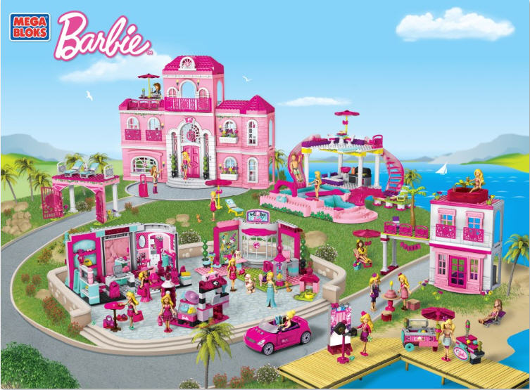 #MegaBloksBarbie Is The Best Playhouse For Kids