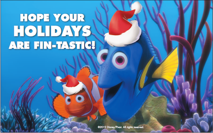 Happy Holidays From Nemo
