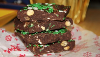 Rocky Road Chocolate Bark Recipe