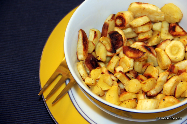 Roasted Parsnips Recipe